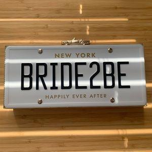 Kate Spade Bride 2 Be Clutch